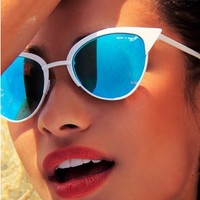 Tilly Sunglasses White - Accessories