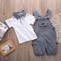 2 PCS!! Toddler Infant For Baby Boy Kids Clothes Autumn Outfits