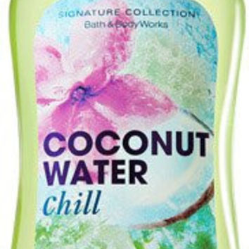 Bath & Body Works Coconut Water Chill (Shea Enriched, Shower Gel) Signature Collection