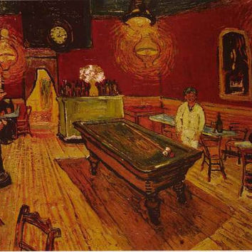 Vincent Van Gogh Night Cafe Poster 24x36