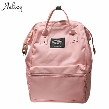 Aelicy Brand Teenage Backpacks for Girl Travel Bag Women Large C 134acaf6c87fb
