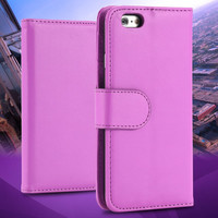 2014 Brand New Photo Frame Leather Case for iphone 6 plus 5.5 inch Flip Stand Wallet With Card Holders Phone Bag for iphone6 FLM
