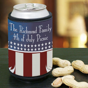 Personalized Can Wrap Koozie