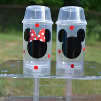 5 Mickey or Minnie Mouse push pop party favors