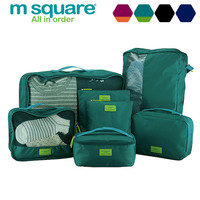 Storage 7-pcs Pack Stuff Bag Toiletry Kits [6432400454]