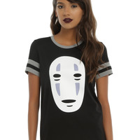 Studio Ghibli Her Universe Spirited Away No-Face Girls Athletic T-Shirt
