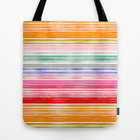 Waves 1 Tote Bag by Garima Dhawan