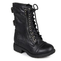 Lima Combat Boots - Girls