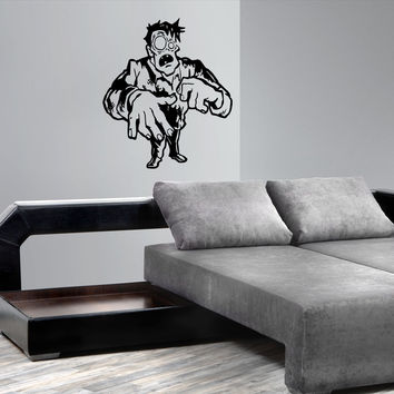 Zombie decal Superheroes stickers Vinyl Kids Room Stylish Wall Art Sticker 10360