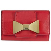 Chloe Bobbie Star Red Leather Key Case 3P0492-889-45E