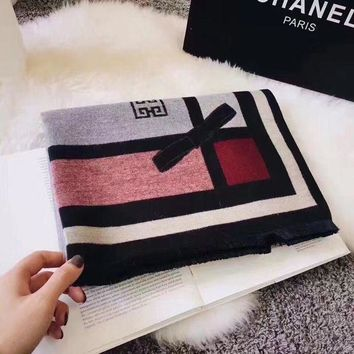 LMFUX5 Givenchy Women Fashion Cashmere Scarf Scarves-1