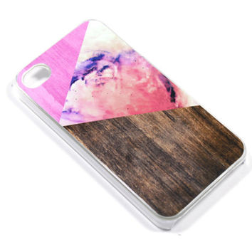 Geometric Galaxy Phone Case  iPhone 5 4 Samsung by CaseOfIdentity