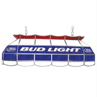 Bud Light 40 inch Stained Glass Pool Table Light