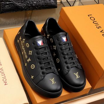 LV Louis Vuitton Fashion Women Men Casual Running Sport Shoes Sneakers Slipper Sandals High Heels Shoes