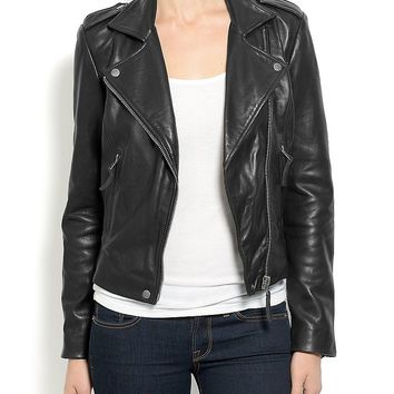Lucky Brand Major Moto Jacket Womens