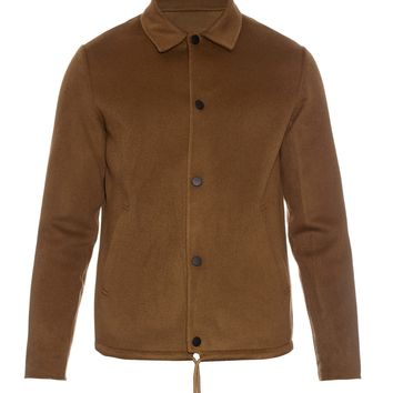 Tony Doublé wool and cashmere-blend coat | Acne Studios | MATCHESFASHION.COM US
