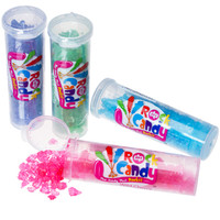 Rock Candy Crystals Tubes Assortment: 24-Piece Display