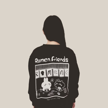 Ramen friends sweatshirt S