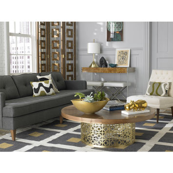 Jonathan Adler Walnut Desmond Screen in All Furniture