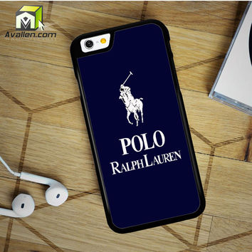 Polo Ralph Lauren Pink Stripe iPhone 6 Plus case by Avallen
