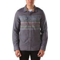 Vans Florage Flannel Shirt - Peacoat