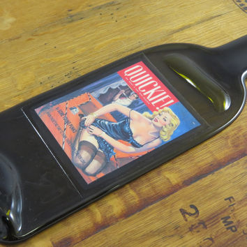 Some Young Punks Quickie - Flat Wine Bottle