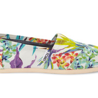 White Birds of Paradise Vegan Women's Classics US 5