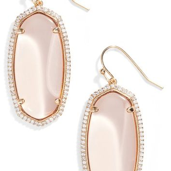 Kendra Scott Elle Pavé Drop Earrings | Nordstrom