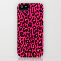 Pink Leopard iPhone & iPod Case by Good Sense