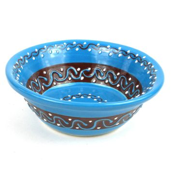 Azure Blue Small Bowl