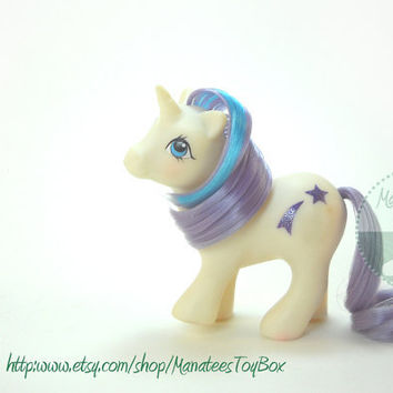 Vintage My Little Pony: Baby Glory 80s Toy
