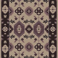 Surya PZR6009 Pazar Purple Rectangle Area Rug