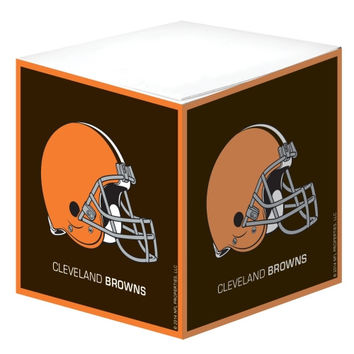 Cleveland Browns Note Cube