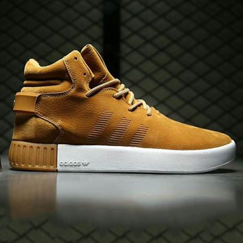 Adidas tubular invader strap Fashion Men Running Sport Casual High Top Shoes Sneakers G-A0-HXYDXPF
