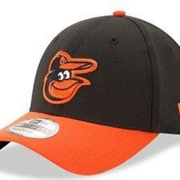 Baltimore Orioles New Era 39THIRTY Team Classic Stretch Fit Flex Cap Hat 3930