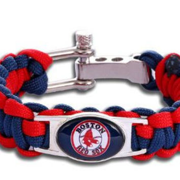MLB - Boston Red Sox Custom Paracord Bracelet