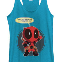 Look at the Chump in the Deadpool Tee