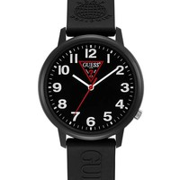 A$AP Rocky Black Analog Watch at Guess