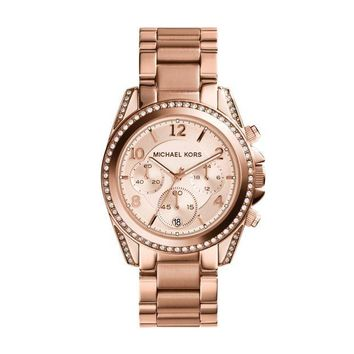 DCCKWA2 Michael Kors Watches Ladies Rose Gold Blair Watch