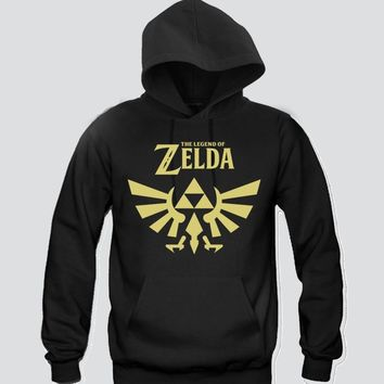 The Legend Of Zelda Unisex Hooded Sweatshirt Funny and Music