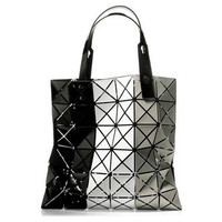 Bilbao Striped Bag by Issey Miyake | Neu Black