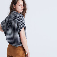 Central Shirt in Gingham Check
