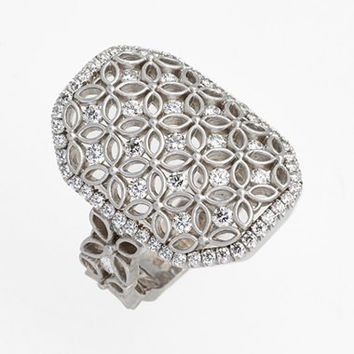 Jack Kelege Diamond Cocktail Ring