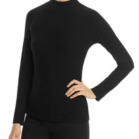 BOSSElaise Banded Collar Top