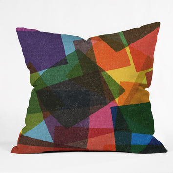Nick Nelson Square Miles Outdoor Throw Pillow