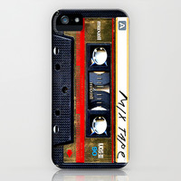 Vintage classic retro Gold mix cassette tape apple iPhone 4 4s, 5 5s 5c, iPod & samsung galaxy s4 case