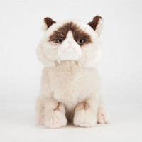 Grumpy Cat Plush Cream One Size For Men 23598115101