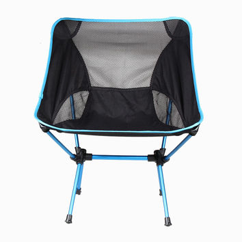 New Promotion Portable Chair Folding Seat Stool Fishing Camping Hiking Beach Picnic Bag Free shipping Camping Sport Tool H1E1