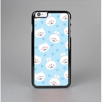 The Subtle Blue & White Faced Cats Skin-Sert for the Apple iPhone 6 Plus Skin-Sert Case