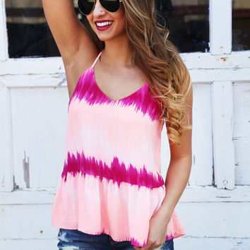 Brightest Color Babydoll Tank {Multi}: Buddy Love